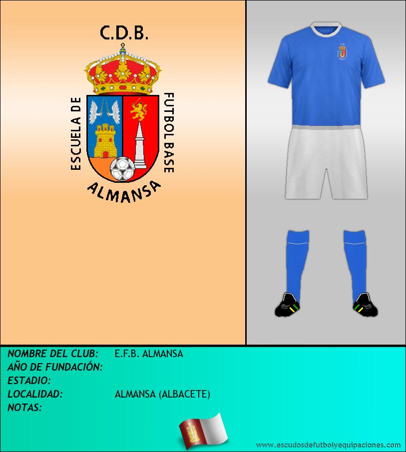 Escudo de E.F.B. ALMANSA