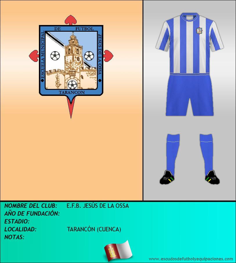 Escudo de E.F.B. JESÚS DE LA OSSA