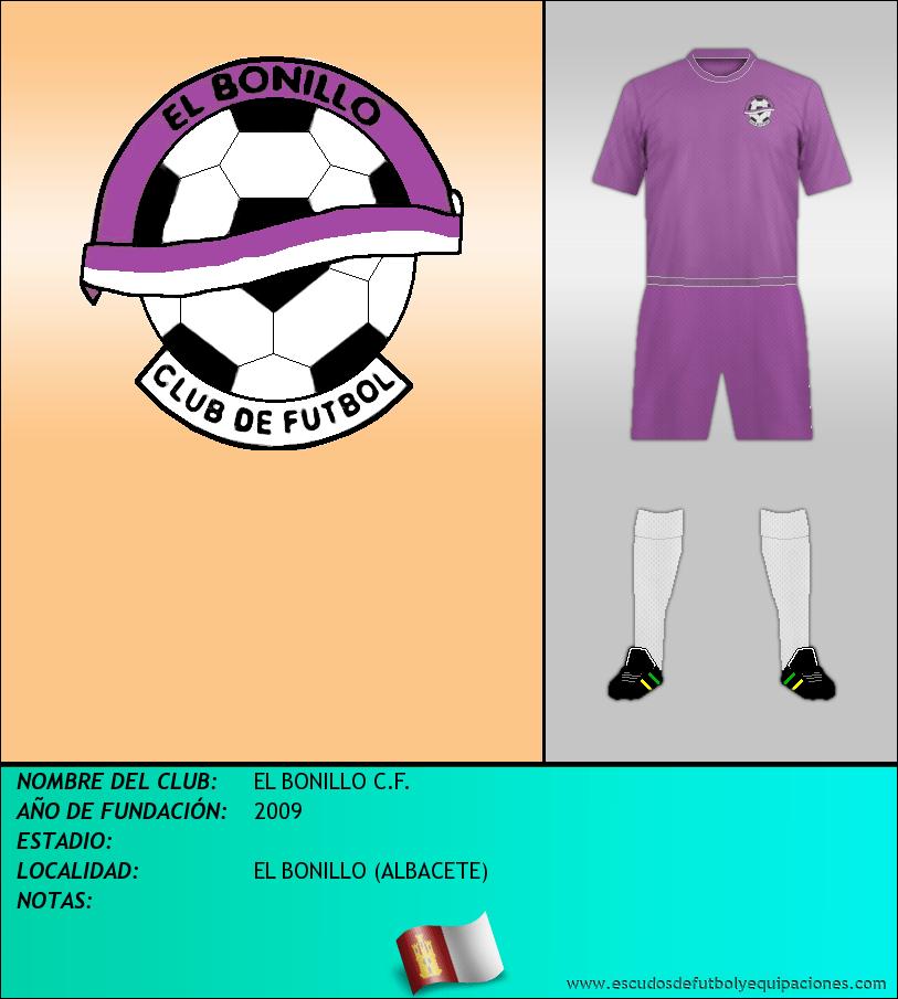 Escudo de EL BONILLO C.F.