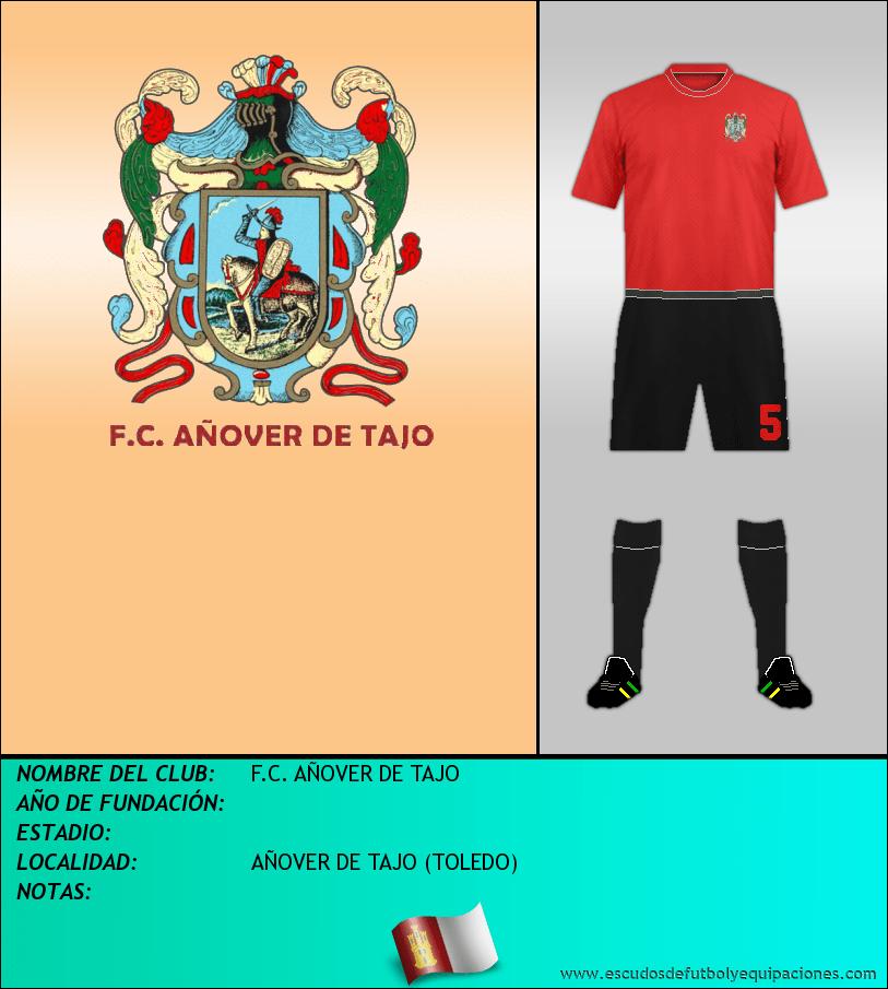 Escudo de F.C. AÑOVER DE TAJO