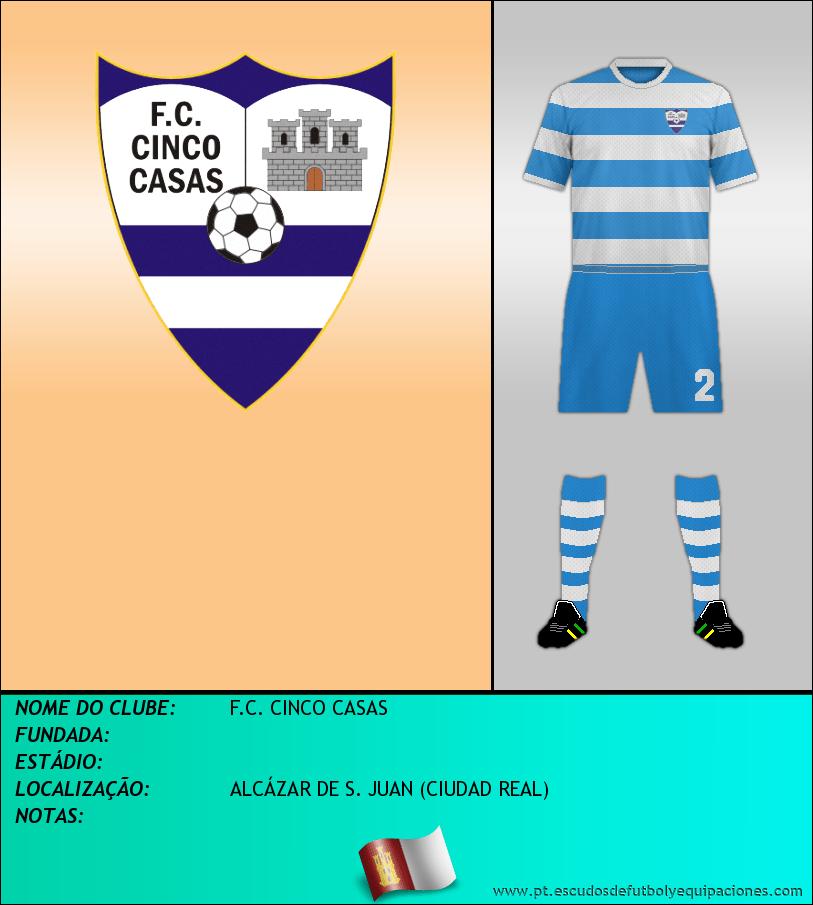 Escudo de F.C. CINCO CASAS