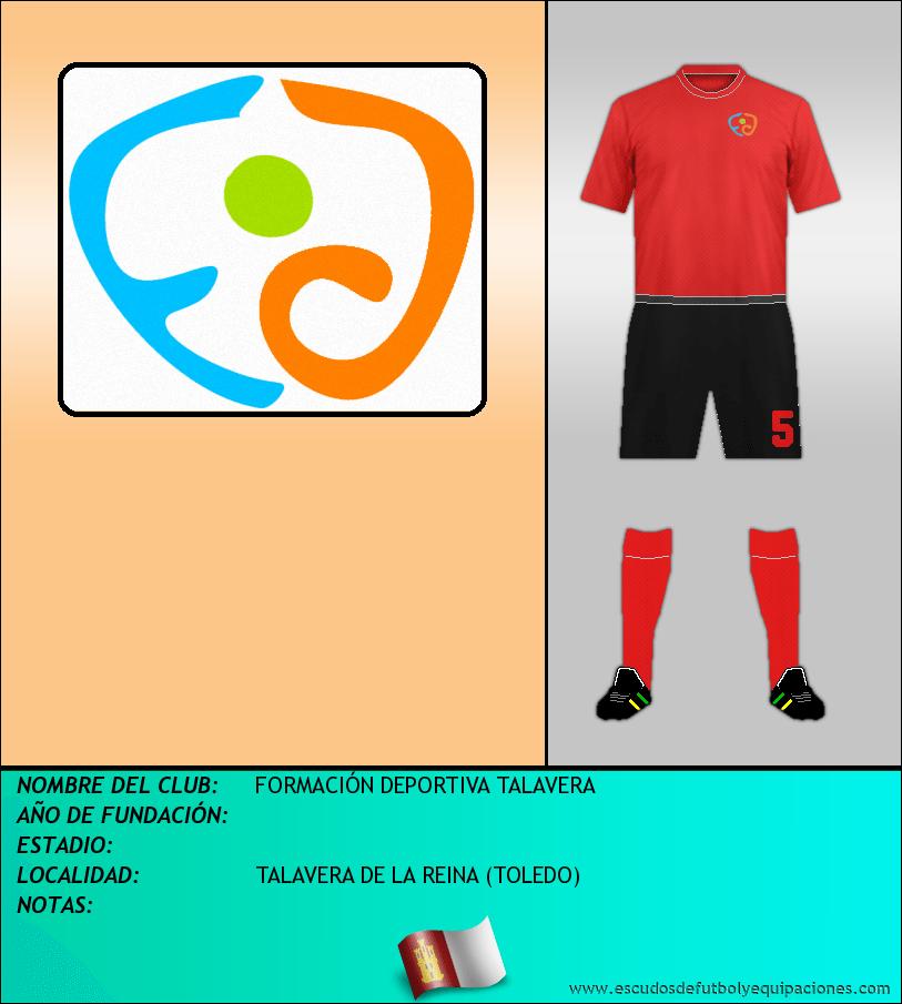Escudo de FORMACIÓN DEPORTIVA TALAVERA