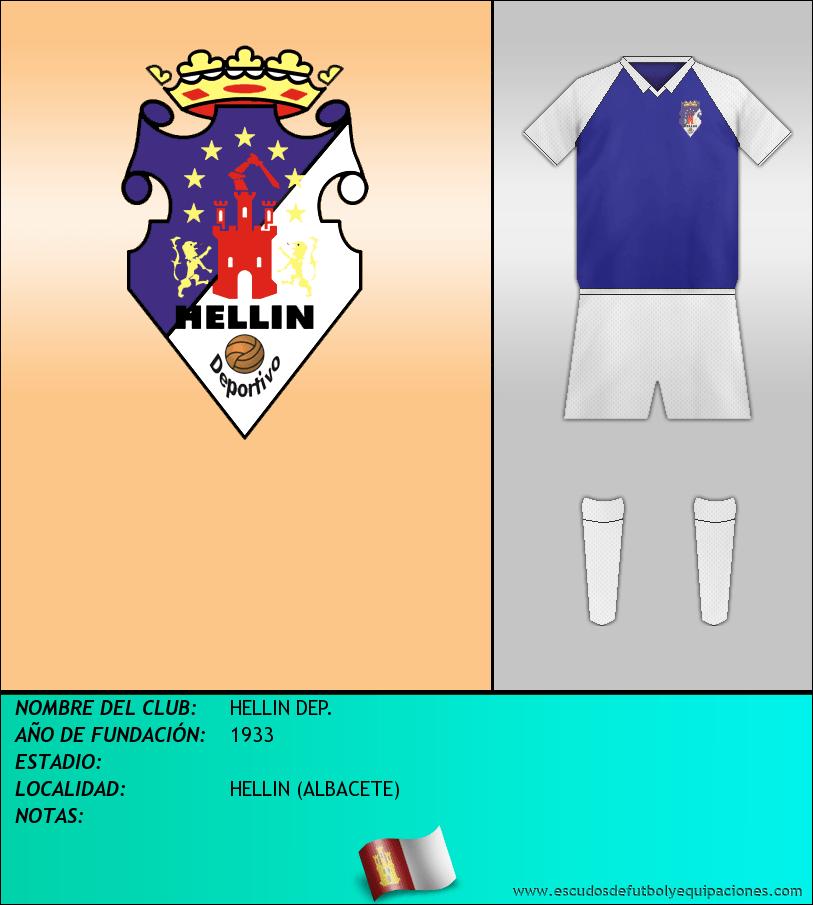 Escudo de HELLIN DEP.