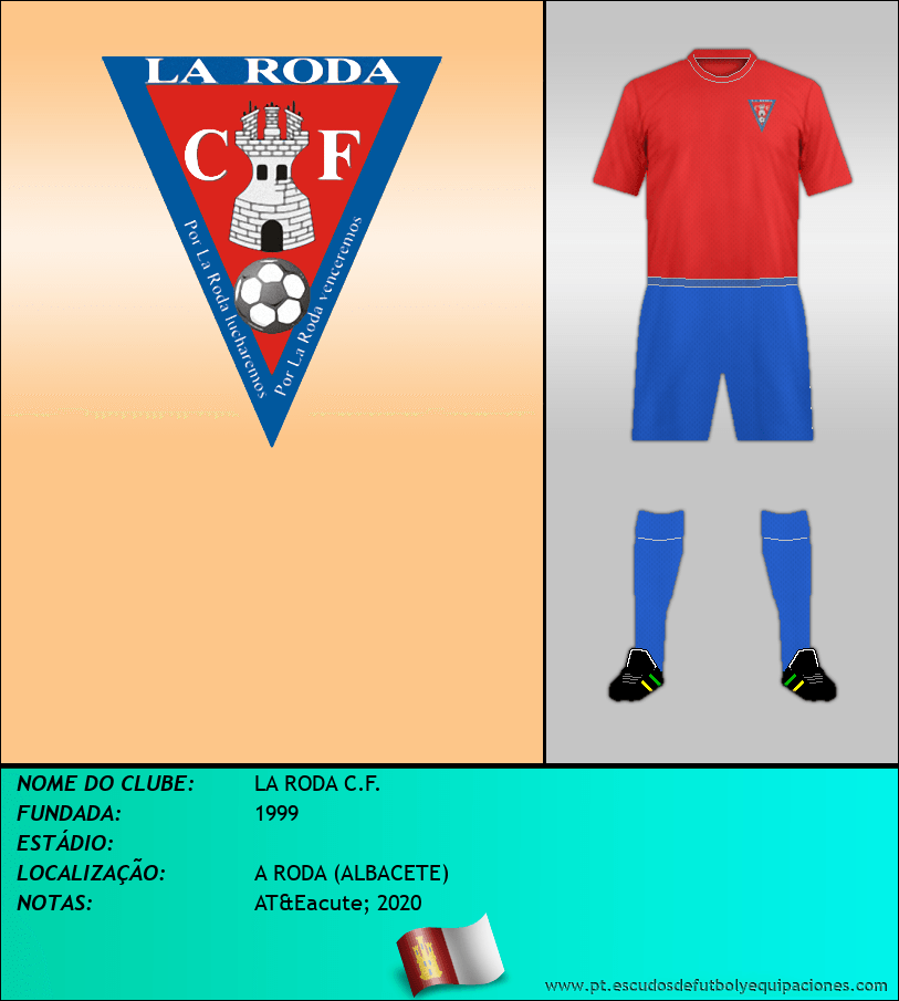 Escudo de LA RODA C.F.