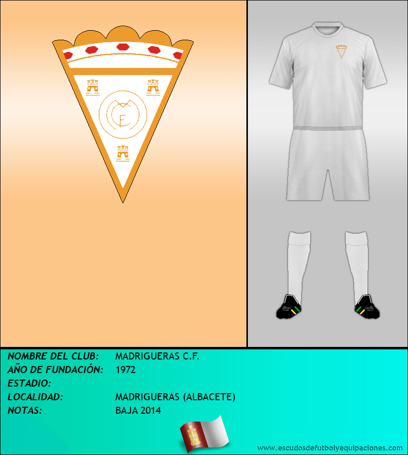 Escudo de MADRIGUERAS C.F.