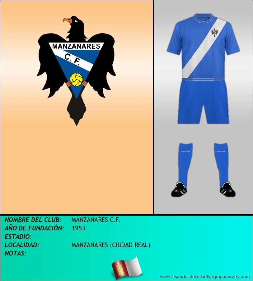 Escudo de MANZANARES C.F.