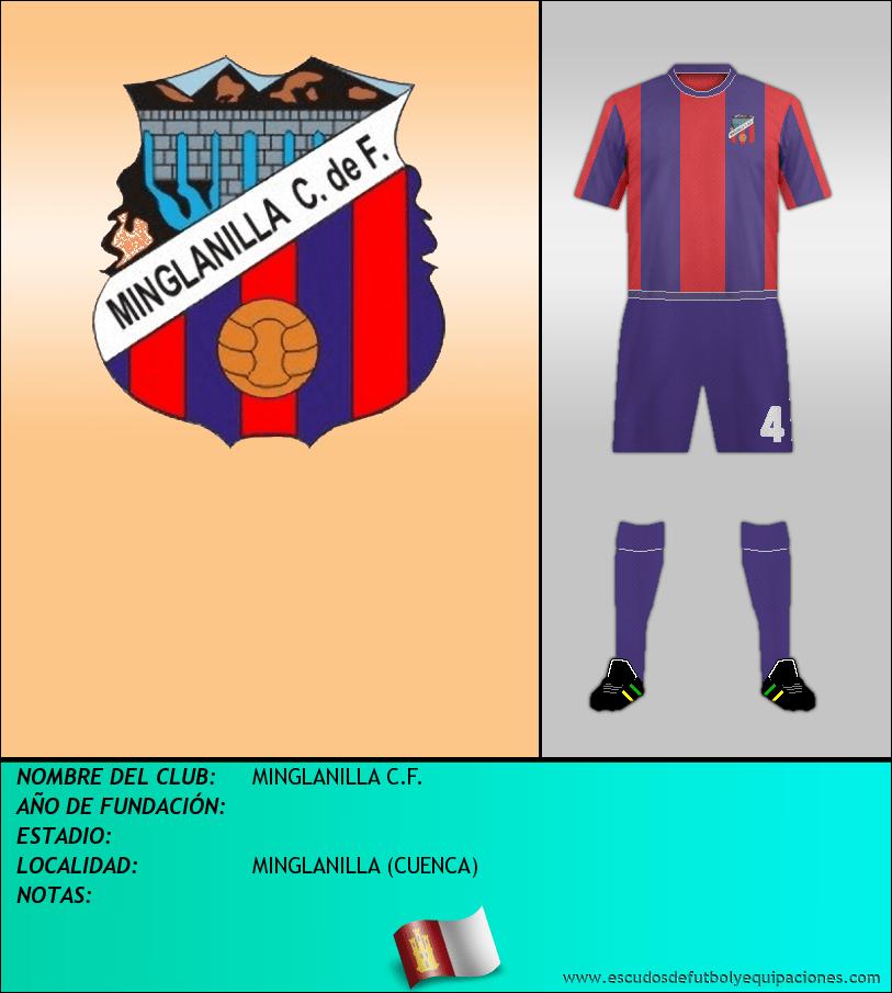 Escudo de MINGLANILLA C.F.