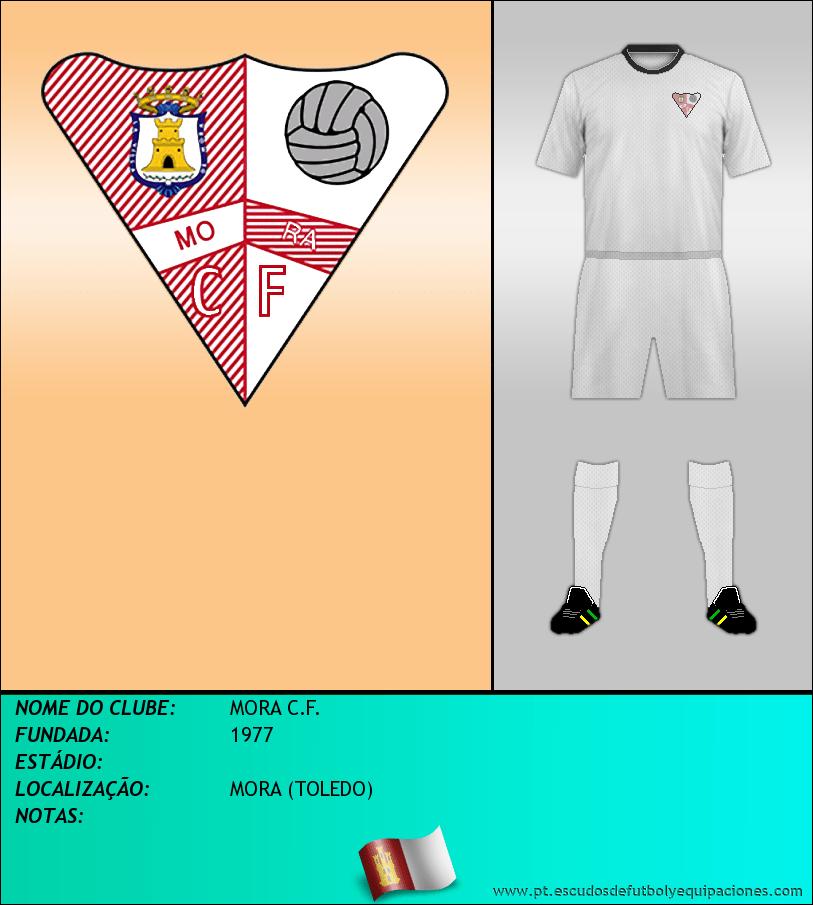 Escudo de MORA C.F.
