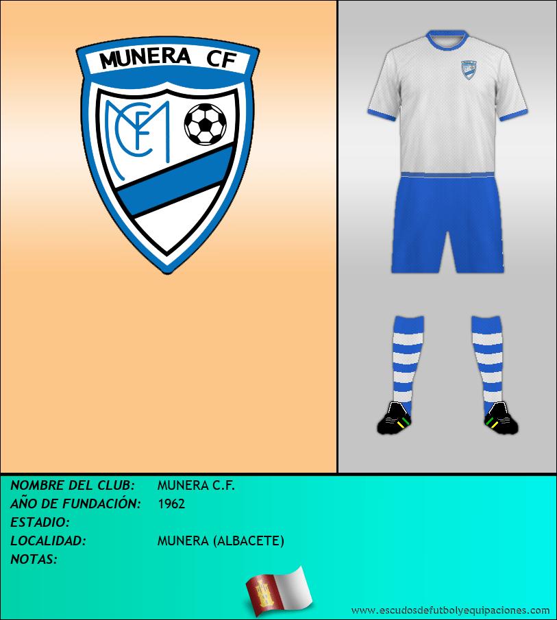 Escudo de MUNERA C.F.
