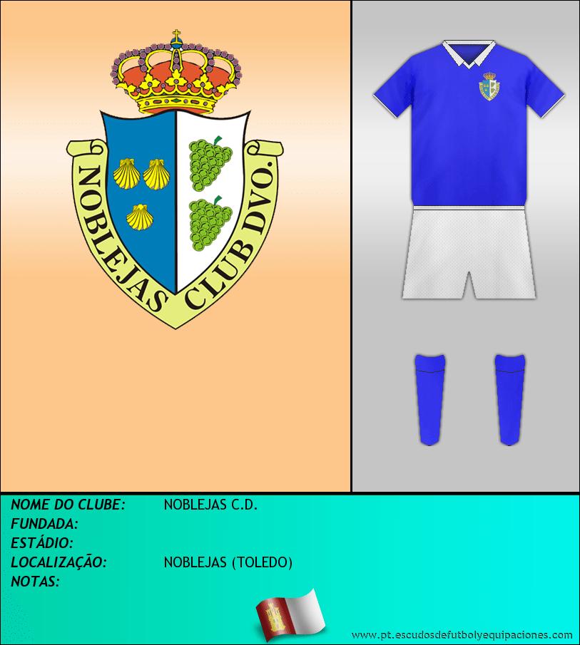 Escudo de NOBLEJAS C.D.