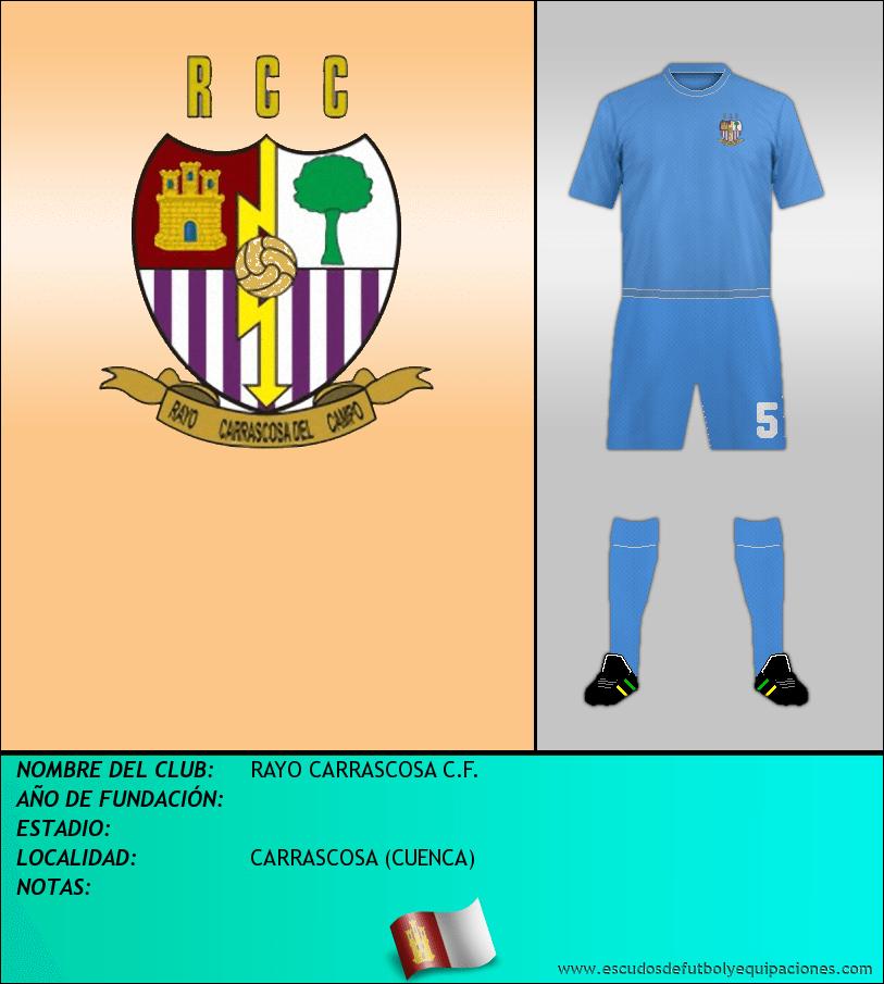 Escudo de RAYO CARRASCOSA C.F.