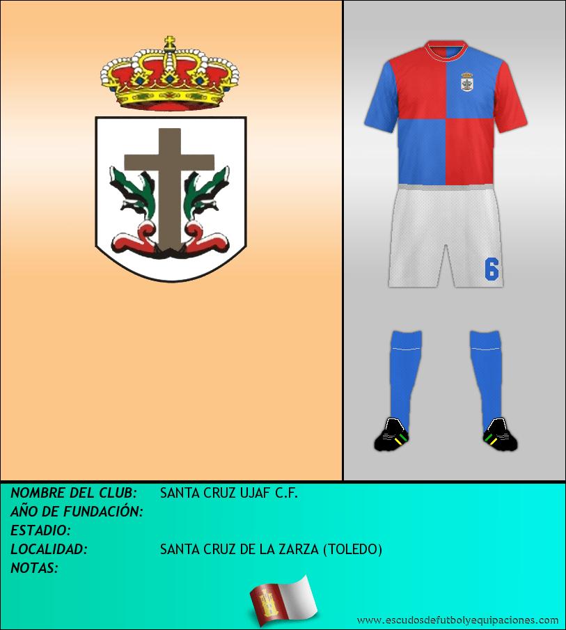 Escudo de SANTA CRUZ UJAF C.F.