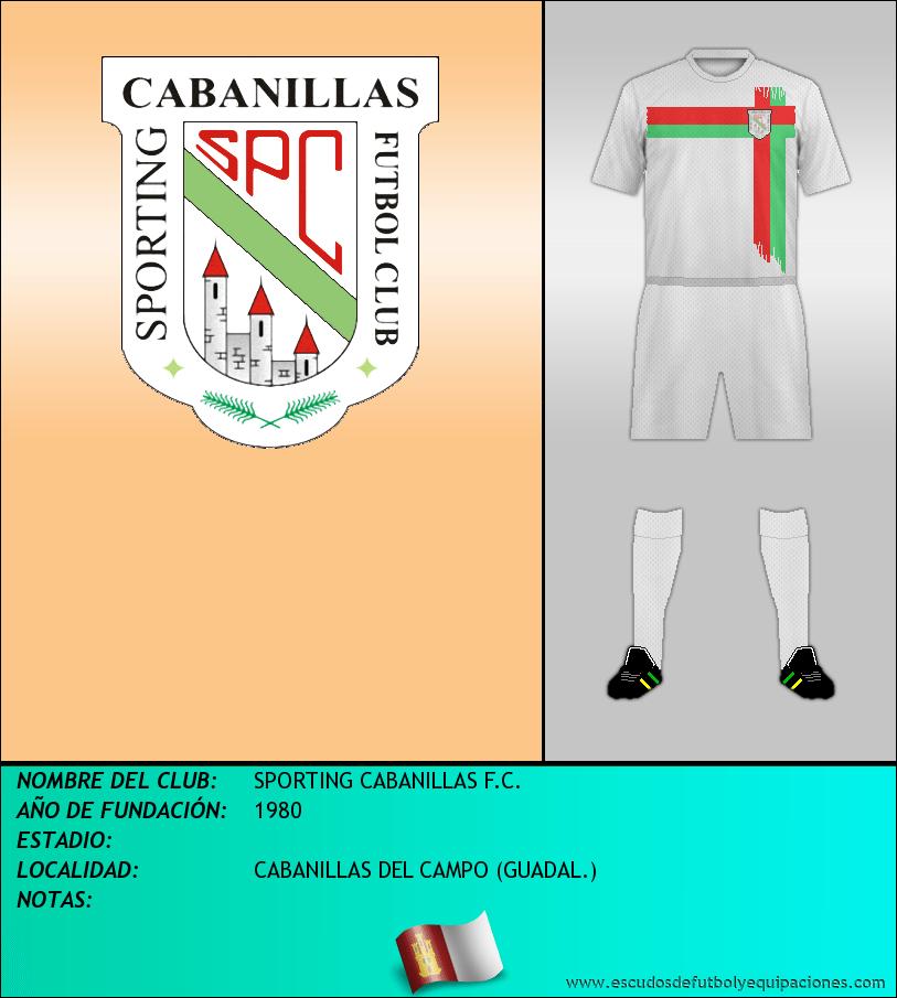 Escudo de SPORTING CABANILLAS F.C.