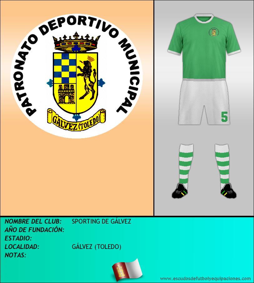 Escudo de SPORTING DE GÁLVEZ