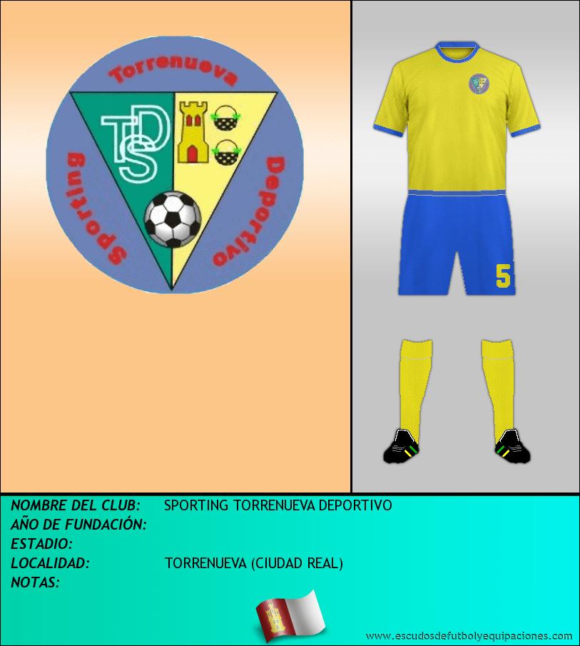 Escudo de SPORTING TORRENUEVA DEPORTIVO