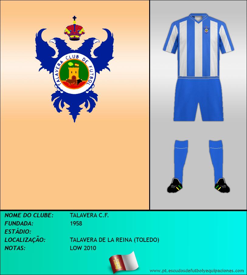 Escudo de TALAVERA C.F.