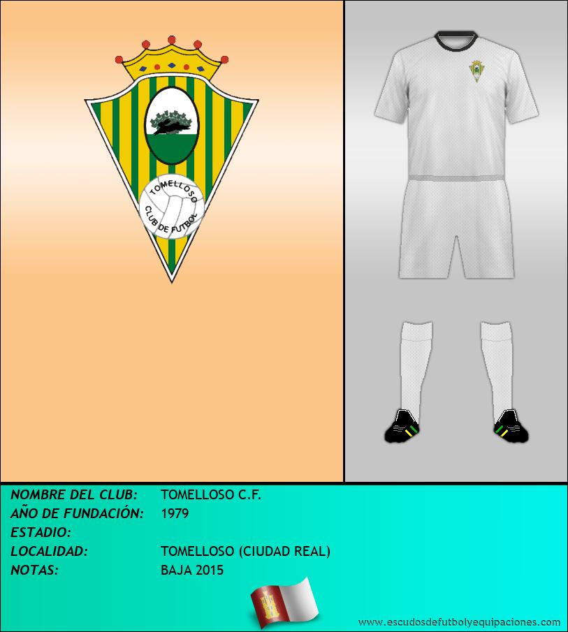 Escudo de TOMELLOSO C.F.