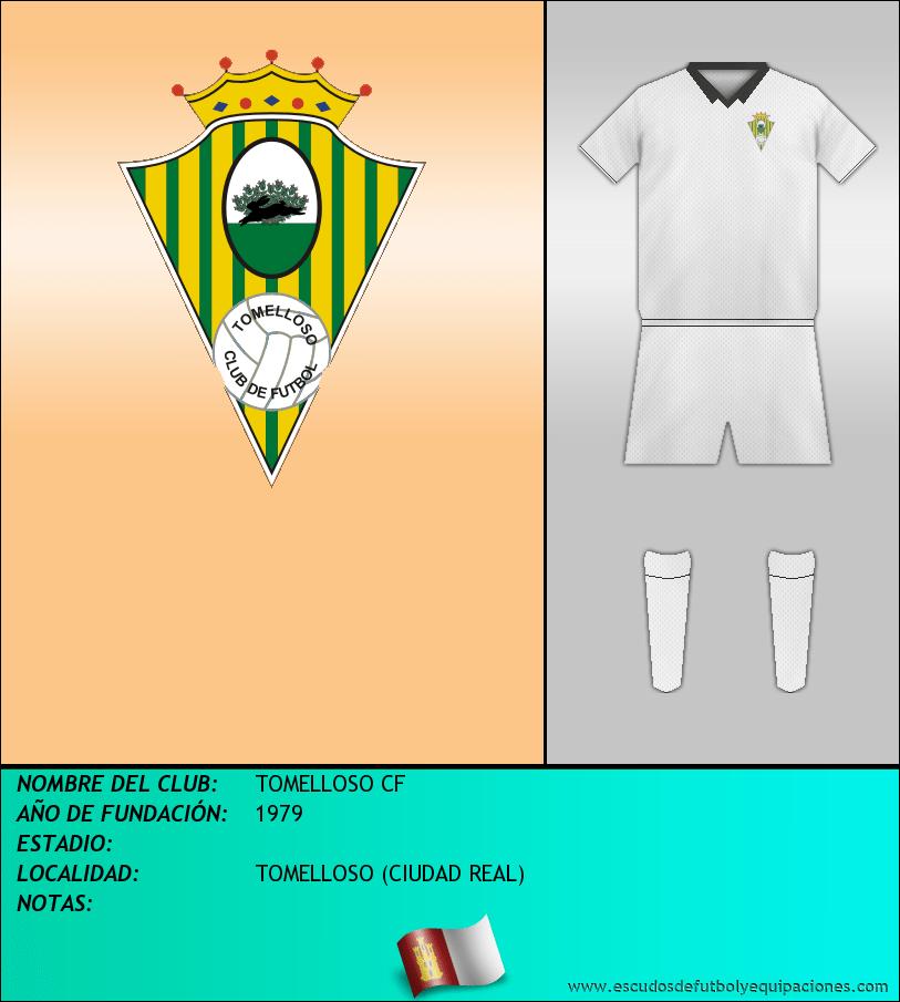 Escudo de TOMELLOSO CF