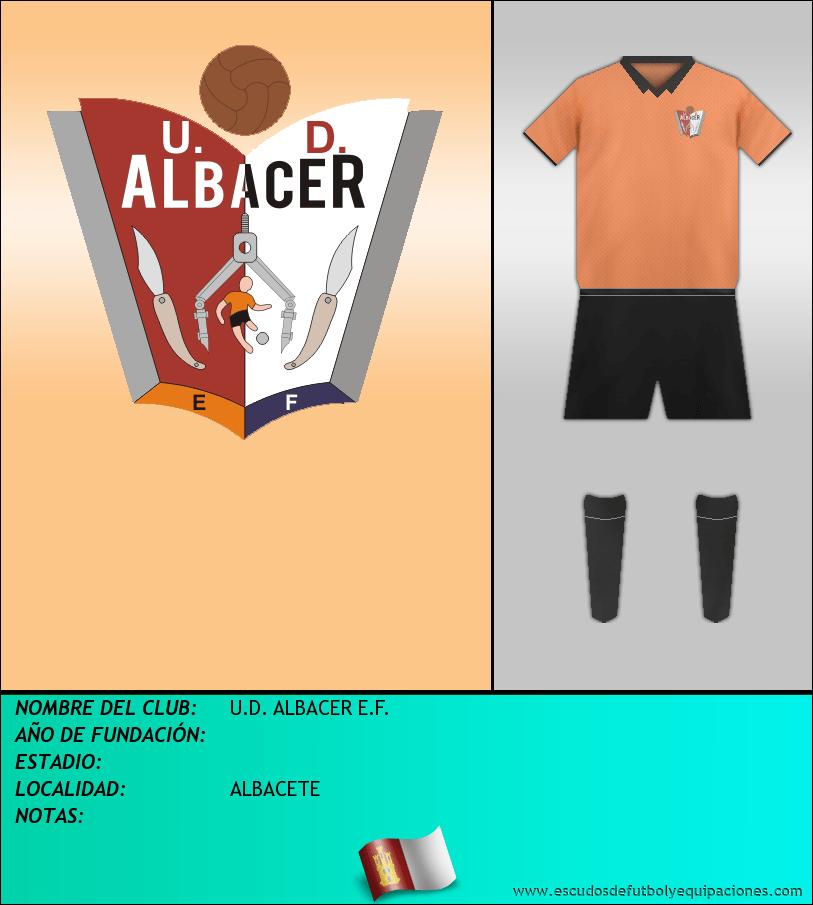 Escudo de U.D. ALBACER E.F.