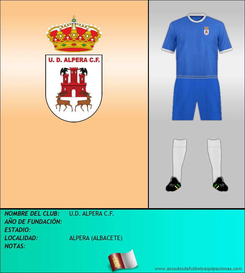 Escudo de U.D. ALPERA C.F.