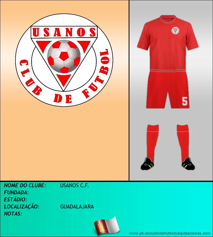 Escudo de USANOS C.F.
