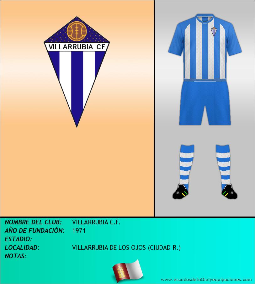 Escudo de VILLARRUBIA C.F.