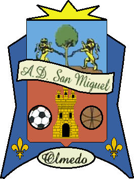 Escudo de A.D. SAN MIGUEL OLMEDO (CASTILLA Y LEÓN)