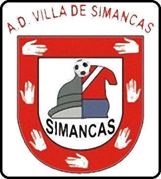 Escudo de A.D. VILLA DE SIMANCAS (CASTILLA Y LEÓN)