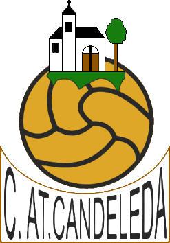 Escudo de C. ATL. CANDELEDA (CASTILLA Y LEÓN)