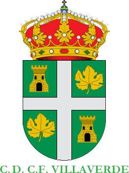 Escudo de C.D. C.F. VILLAVERDE (CASTILLA Y LEÓN)
