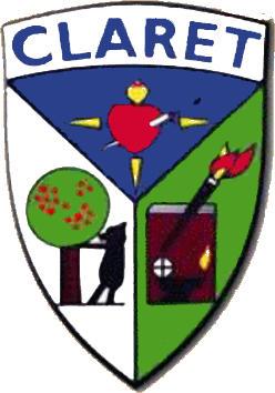 Escudo de C.D. CLARET (SEGOVIA) (CASTILLA Y LEÓN)