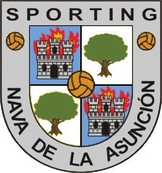 Escudo de C.D. SPORTING NAVA DE LA ASUNCIÓN (CASTILLA Y LEÓN)