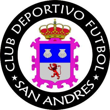 Escudo de C.D.F. SAN ANDRÉS (CASTILLA Y LEÓN)