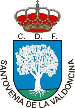 Escudo de C.D.F. SANTOVENIA DE LA VALDONCINA (CASTILLA Y LEÓN)