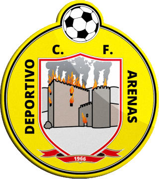 Escudo de DEPORTIVO ARENAS C.F. (CASTILLA Y LEÓN)