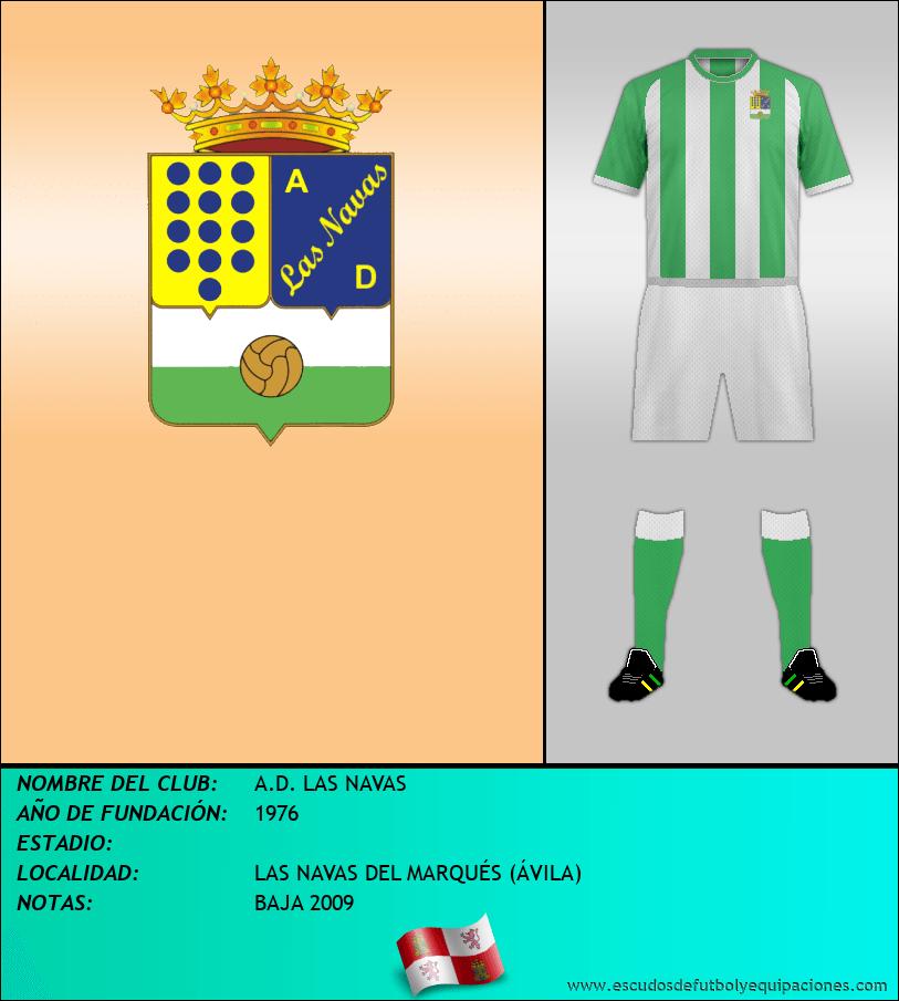 Escudo de A.D. LAS NAVAS