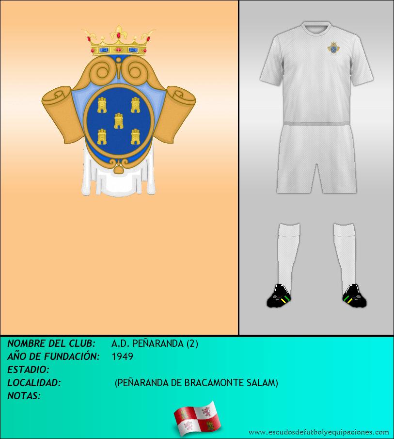 Escudo de A.D. PEÑARANDA (2)
