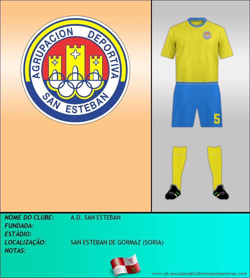 Escudo de A.D. SAN ESTEBAN