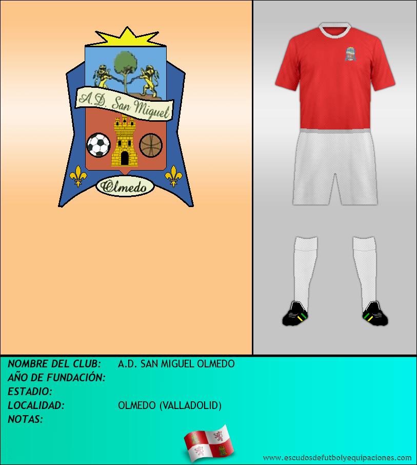Escudo de A.D. SAN MIGUEL OLMEDO