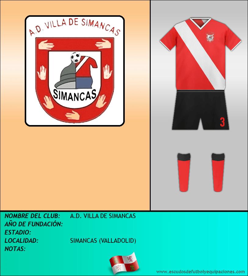 Escudo de A.D. VILLA DE SIMANCAS