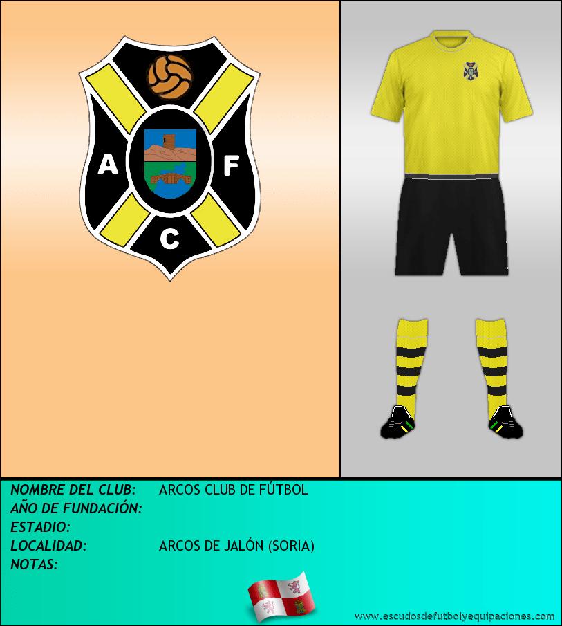 Escudo de ARCOS CLUB DE FÚTBOL