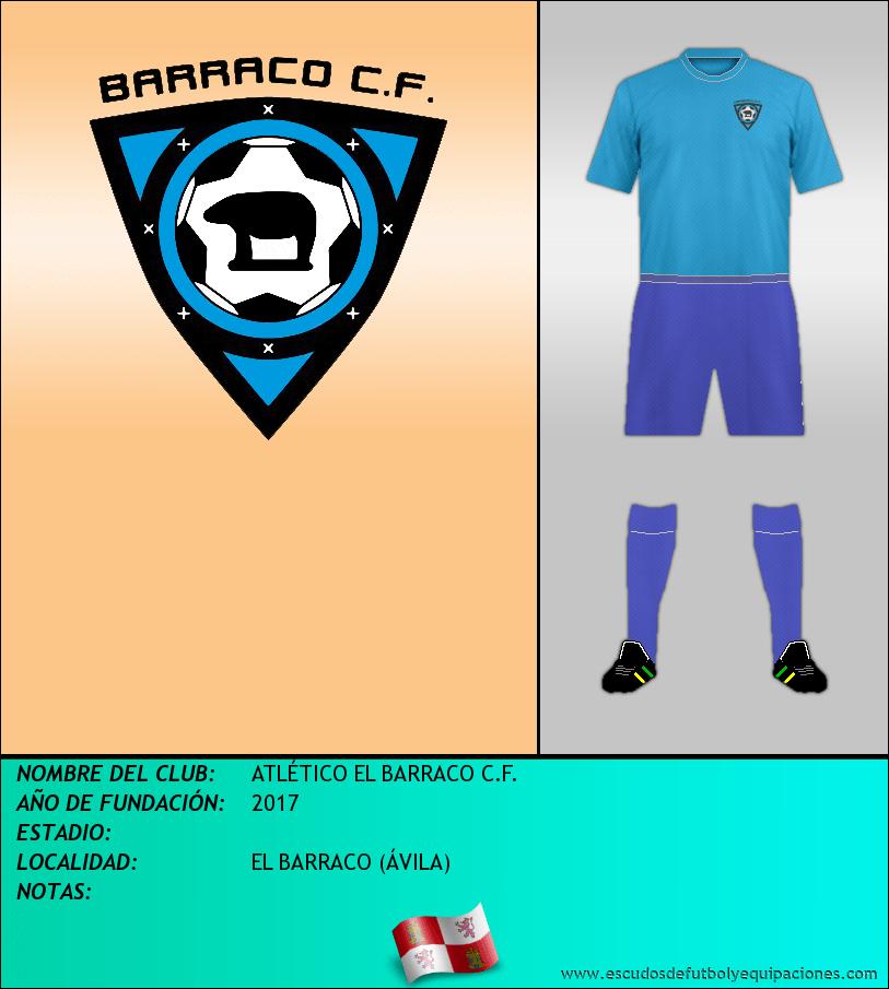 Escudo de ATLÉTICO EL BARRACO C.F.