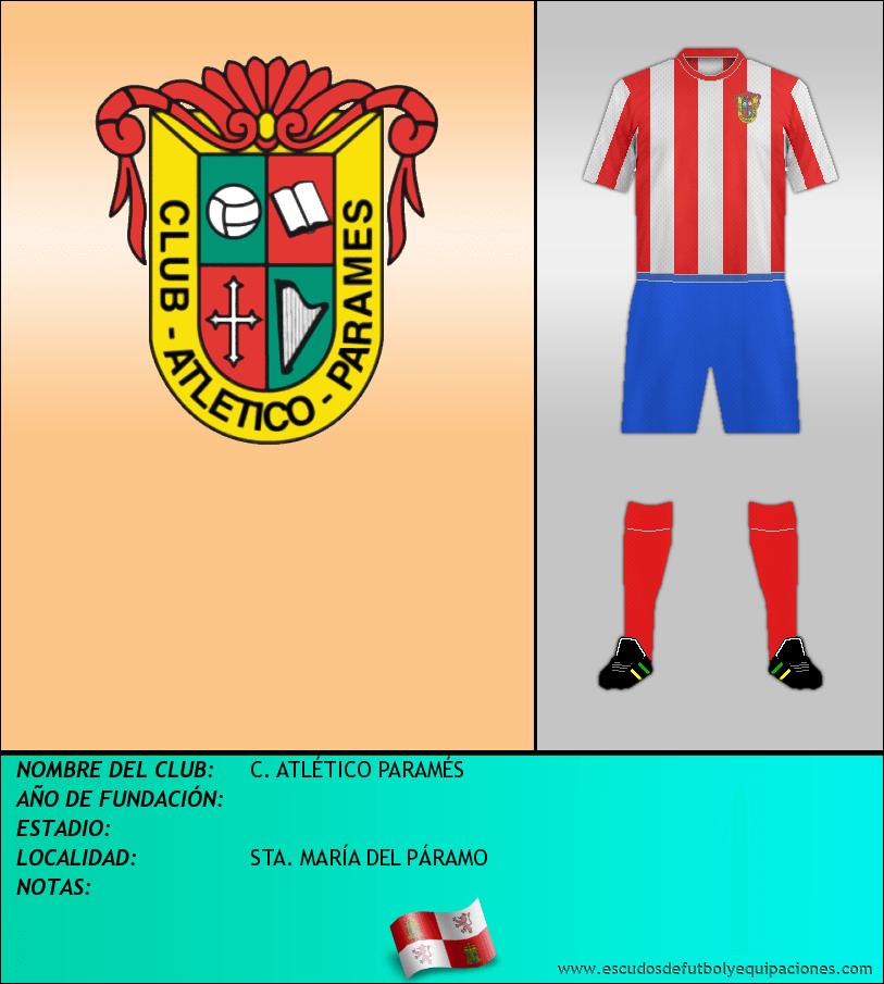 Escudo de C. ATLÉTICO PARAMÉS