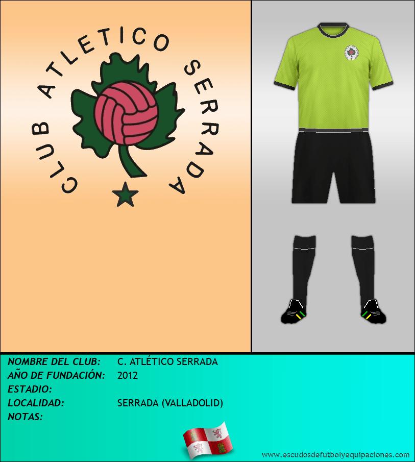 Escudo de C. ATLÉTICO SERRADA