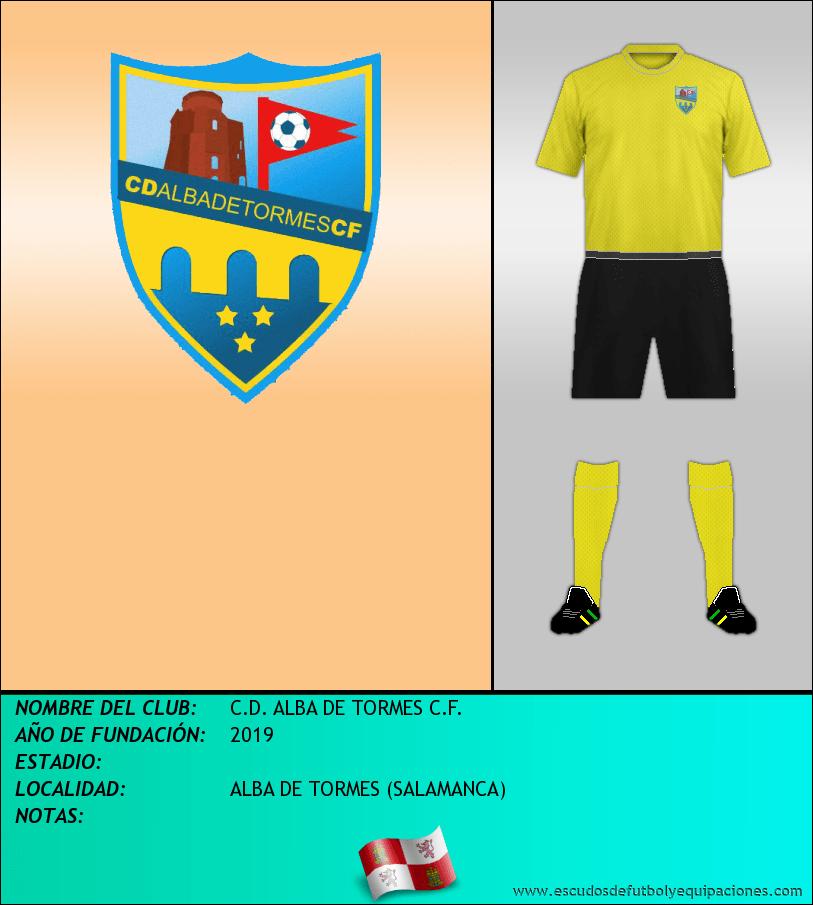 Escudo de C.D. ALBA DE TORMES C.F.