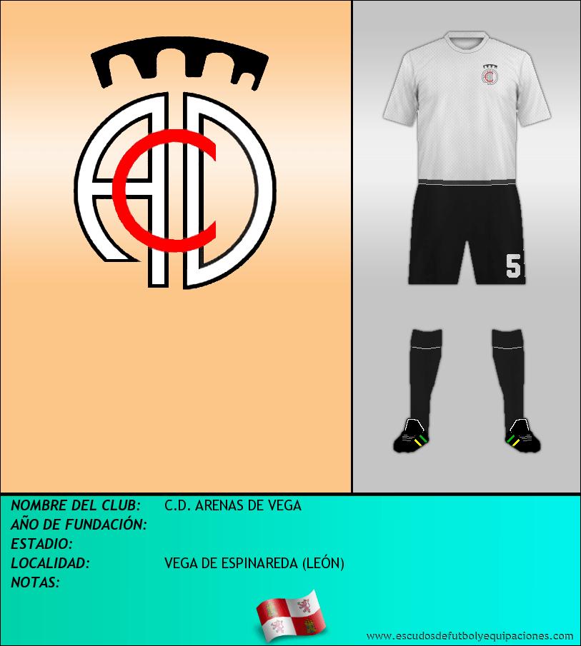 Escudo de C.D. ARENAS DE VEGA