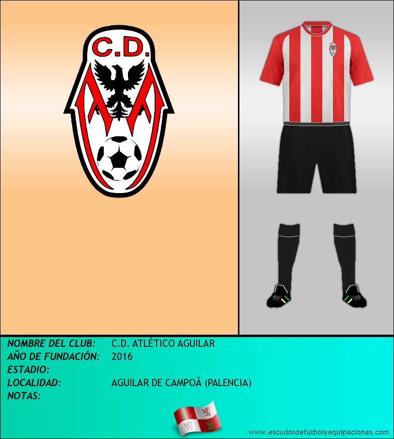 Escudo de C.D. ATLÉTICO AGUILAR