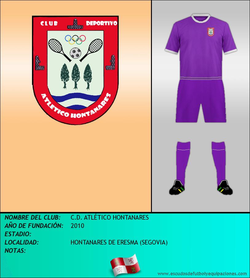 Escudo de C.D. ATLÉTICO HONTANARES