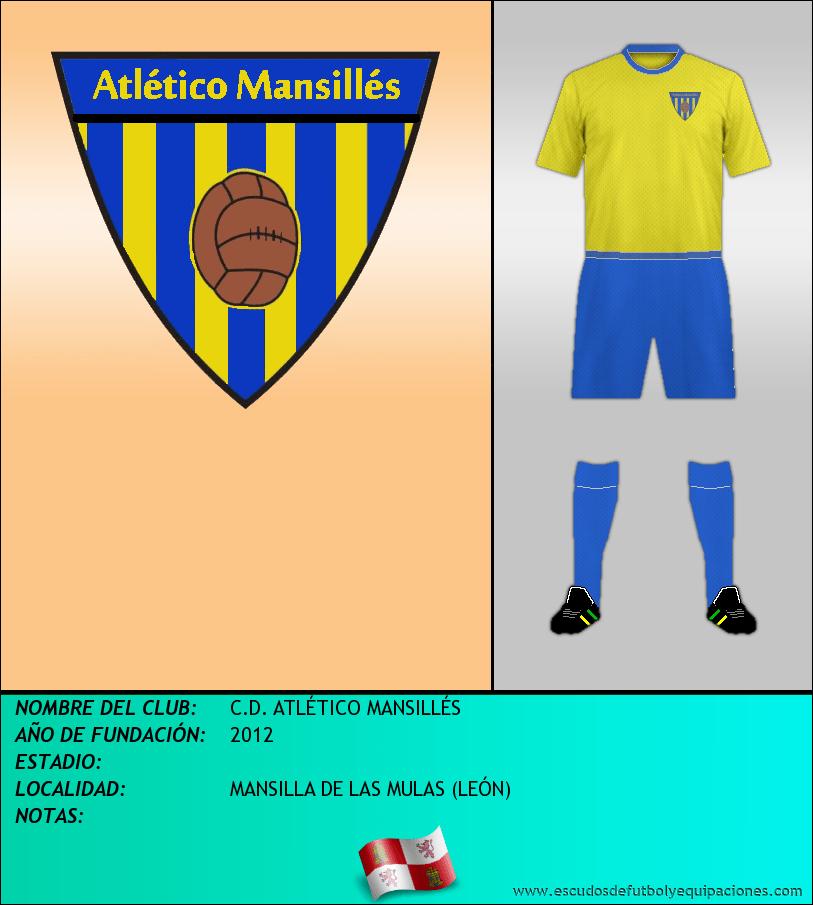 Escudo de C.D. ATLÉTICO MANSILLÉS