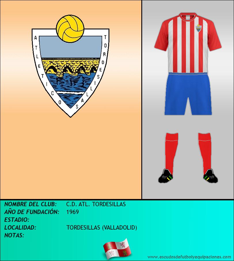 Escudo de C.D. ATL. TORDESILLAS